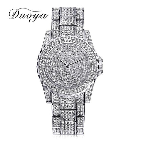 Women Quartz Watch Fashion Bling Casual Ladies Watch Female