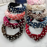 Bohemian Solid Color Soft  Hair Accessories