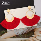 Fashion Bohemian Tassel Vintage Statement Drop Earrings