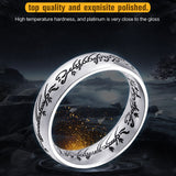 Stainless Steel One Ring Of Power jewelry Ring Women and Men High Quality