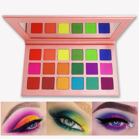 Summer Colorful Eyeshadow Bright Eye Shadow