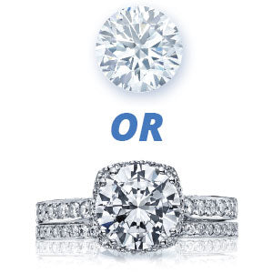 Forevermark Diamond or Tacori Ring