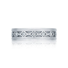 Load image into Gallery viewer, Tacori Sculpted Crescent Diamond Wedding Band (0.61  CTW)