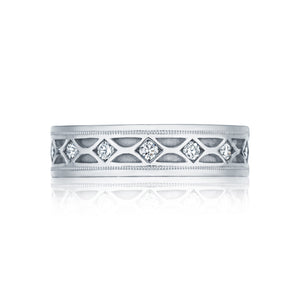 Tacori Sculpted Crescent Diamond Wedding Band (0.61  CTW)
