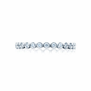 Tacori Sculpted Crescent Diamond Wedding Band (0.2 CTW)