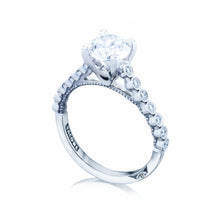 Load image into Gallery viewer, Tacori Sculpted Crescent Round Diamond Engagement Ring (0.2 CTW)