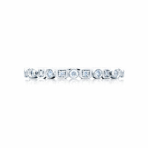 Tacori Sculpted Crescent Diamond Wedding Band (0.17 CTW)