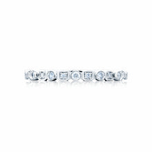 Load image into Gallery viewer, Tacori Sculpted Crescent Diamond Wedding Band (0.32 CTW)