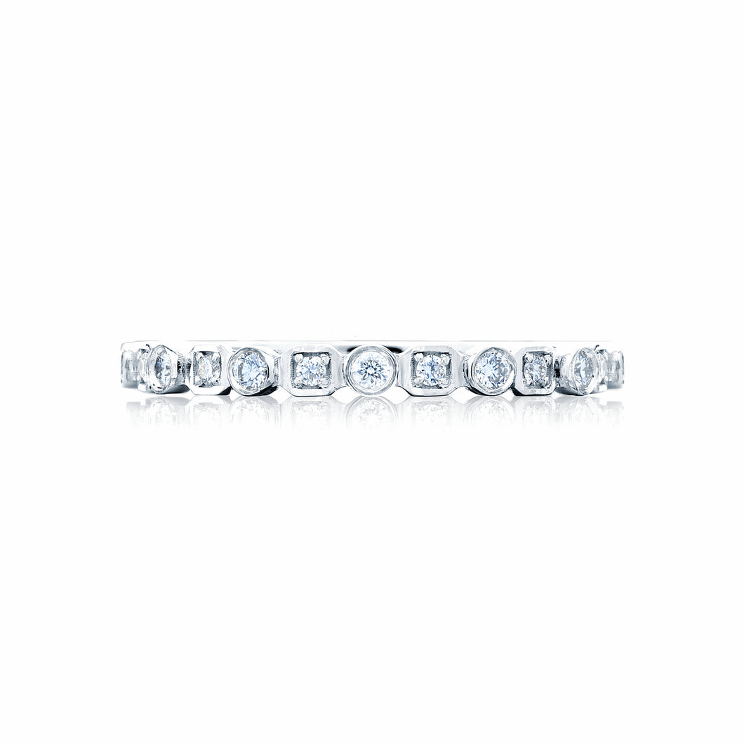 Tacori Sculpted Crescent Diamond Wedding Band (0.32 CTW)