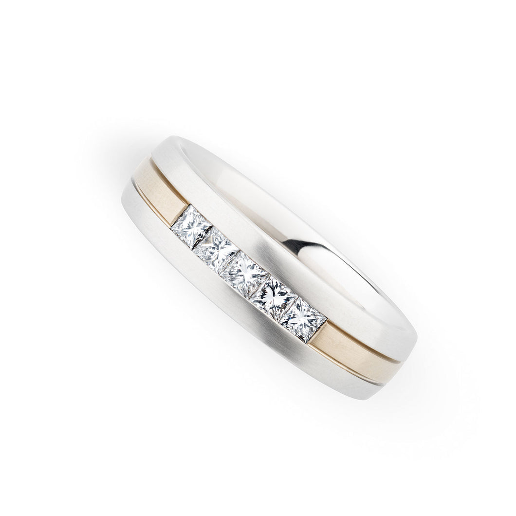 Christian Bauer White Diamond Wedding Band (.50 CTW)