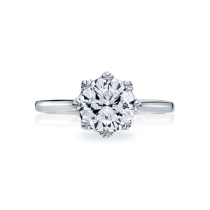 Tacori Simply Tacori Round Diamond Engagement Ring (0.05 CTW)