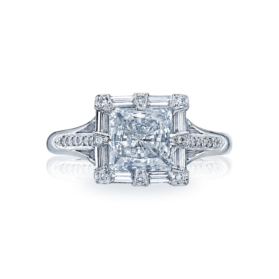 Tacori Simply Tacori Princess Diamond Engagement Ring (0.5 CTW)