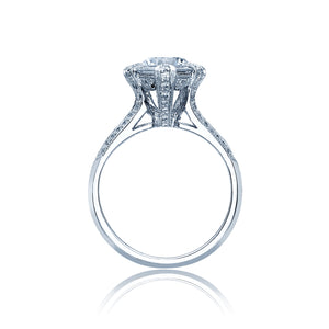 Tacori Simply Tacori Round Diamond Engagement Ring (0.3 CTW)