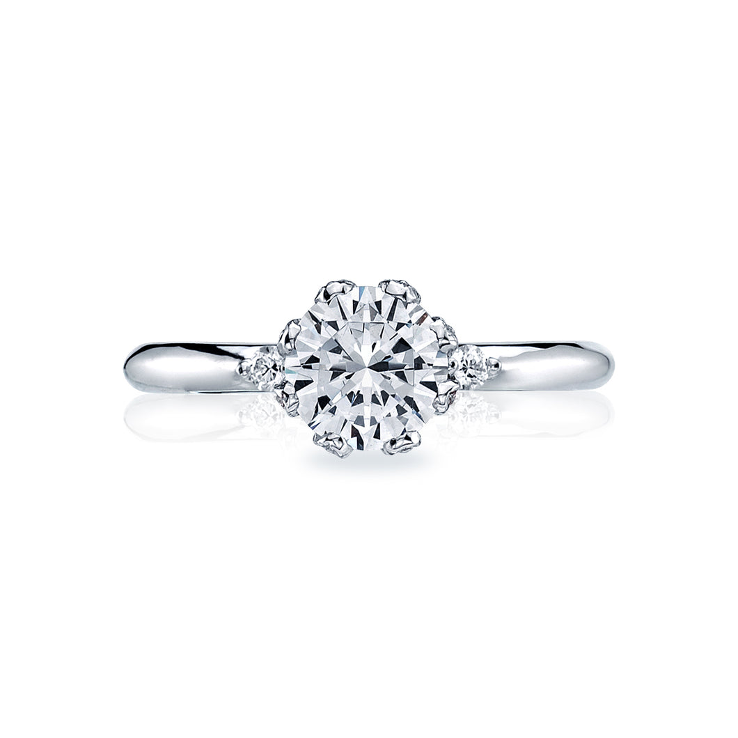 Tacori Simply Tacori Round Diamond Engagement Ring (0.16 CTW)