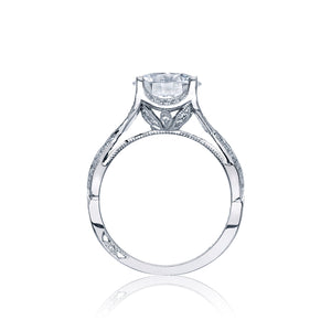 Tacori Ribbon Round Diamond Engagement Ring (0.5 CTW)