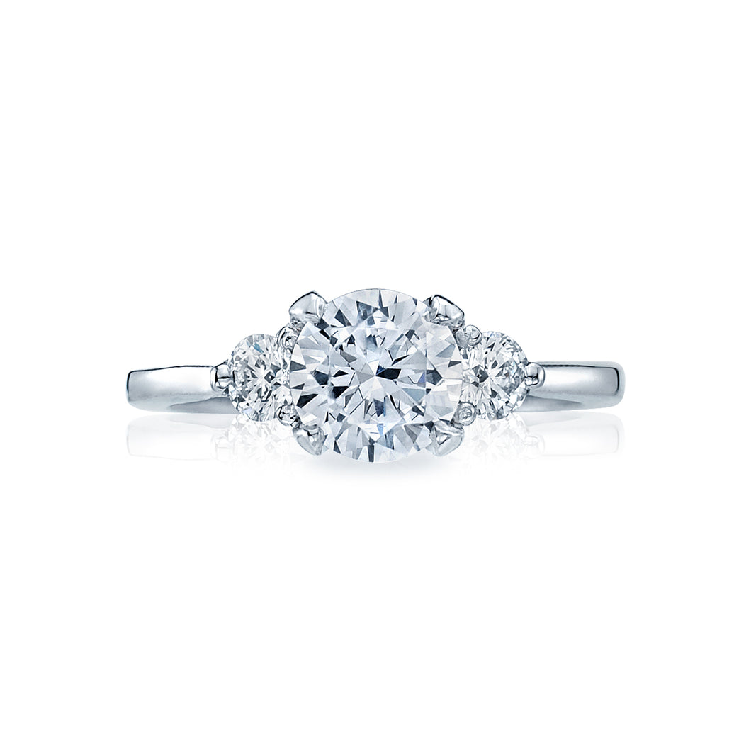 Tacori Simply Tacori Round Diamond Engagement Ring (0.75 CTW)
