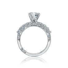 Load image into Gallery viewer, Tacori Classic Crescent Round Diamond Engagement Ring (1 CTW)