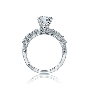 Tacori Classic Crescent Round Diamond Engagement Ring (1 CTW)