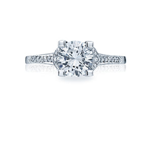 Tacori Simply Tacori Round Diamond Engagement Ring (1 CTW)