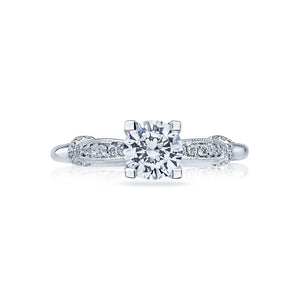 Tacori Simply Tacori Round Diamond Engagement Ring (0.5 CTW)