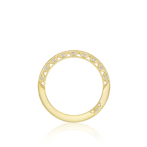 Tacori Classic Crescent Diamond Wedding Band (0.22 CTW)
