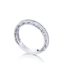 Load image into Gallery viewer, Tacori Reverse Crescent Diamond Wedding Band (0.36 CTW)