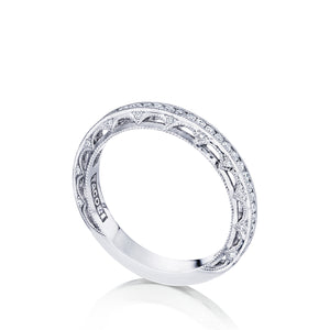 Tacori Reverse Crescent Diamond Wedding Band (0.36 CTW)