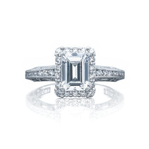Tacori Reverse Crescent  Engagement Ring (0.51 CTW)