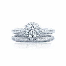 Load image into Gallery viewer, Tacori Reverse Crescent Round Diamond Engagement Ring (0.37 CTW)