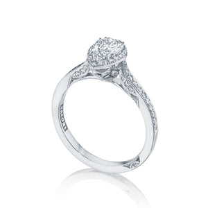 Tacori Dantela Pear Diamond Engagement Ring (0.26 CTW)