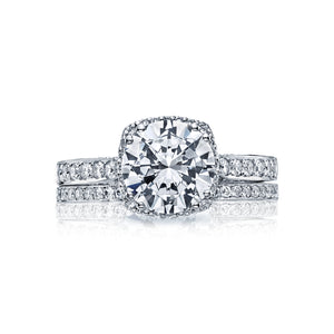 Tacori Dantela Round Diamond Engagement Ring (0.37 CTW)