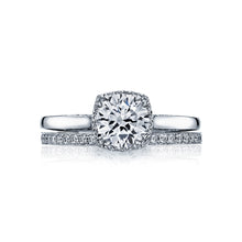 Load image into Gallery viewer, Tacori Dantela Round Diamond Engagement Ring (0.13 CTW)