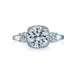 Tacori Dantela Round Diamond Engagement Ring (0.72 CTW)