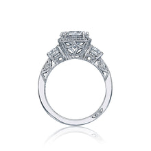 Load image into Gallery viewer, Tacori Dantela Round Diamond Engagement Ring (0.72 CTW)