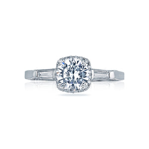 Tacori Dantela Round Diamond Engagement Ring (0.31 CTW)