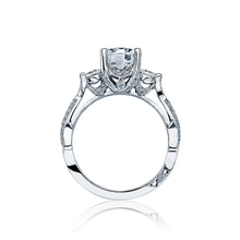 Load image into Gallery viewer, Tacori Ribbon Round Diamond Engagement Ring (0.65 CTW)