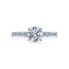 Load image into Gallery viewer, Tacori Dantela Round Diamond Engagement Ring (0.2 CTW)