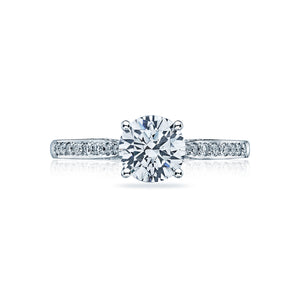 Tacori Dantela Round Diamond Engagement Ring (0.2 CTW)