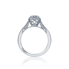 Load image into Gallery viewer, Tacori Dantela Round Diamond Engagement Ring (0.12 CTW)