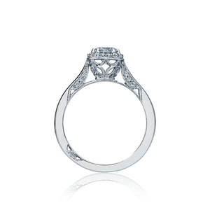 Tacori Dantela Round Diamond Engagement Ring (0.12 CTW)