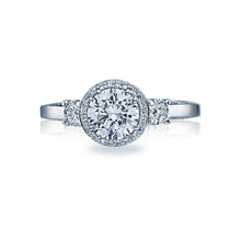 Load image into Gallery viewer, Tacori Dantela Round Diamond Engagement Ring (0.4 CTW)
