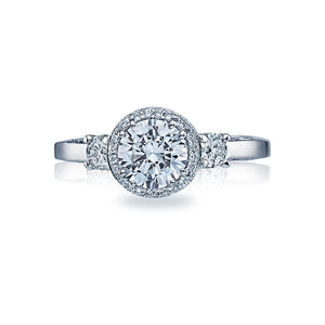 Tacori Dantela Round Diamond Engagement Ring (0.4 CTW)