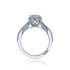 Tacori Dantela Round Diamond Engagement Ring (0.54 CTW)