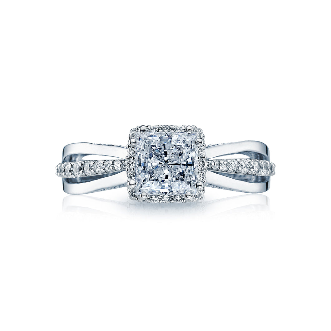 Tacori Dantela Princess Diamond Engagement Ring (0.36 CTW)