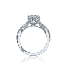 Load image into Gallery viewer, Tacori Dantela Princess Diamond Engagement Ring (0.36 CTW)