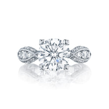 Load image into Gallery viewer, Tacori Classic Crescent Round Diamond Engagement Ring (1.35 CTW)