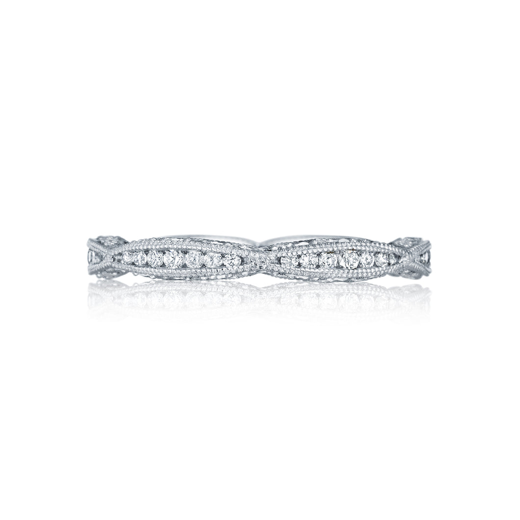 Tacori Classic Crescent Diamond Wedding Band (0.44 CTW)