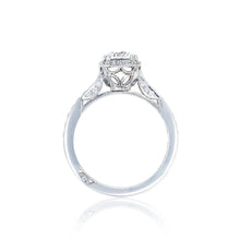 Load image into Gallery viewer, Tacori Dantela Round Diamond Engagement Ring (0.45 CTW)