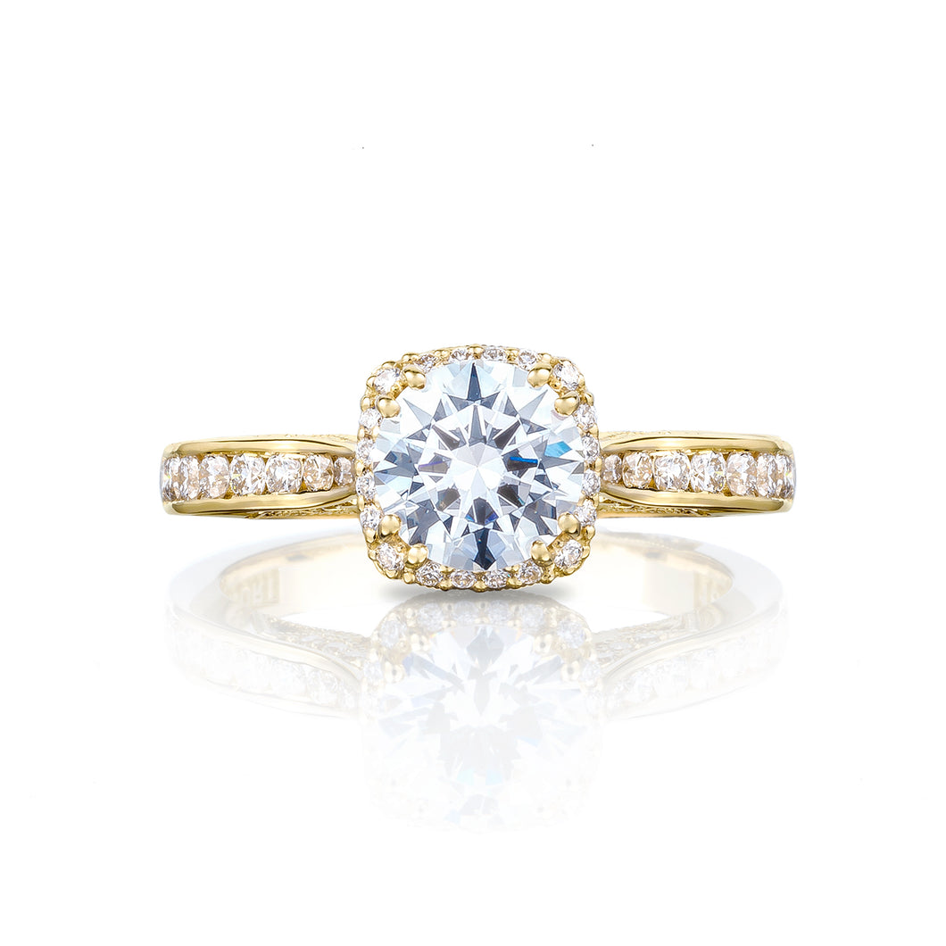 Tacori Dantela Round Diamond Engagement Ring (0.45 CTW)