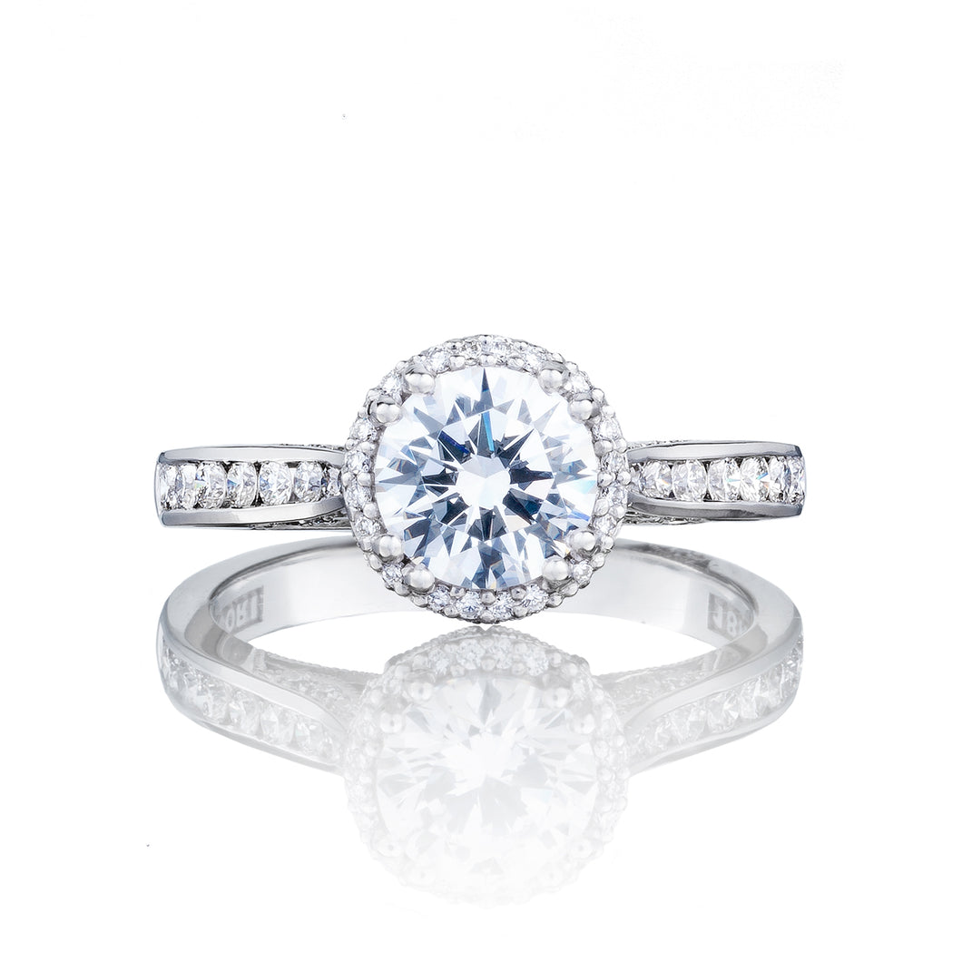 Tacori Dantela Round Diamond Engagement Ring (0.43 CTW)